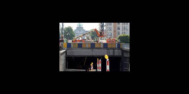 Les tunnels Cinquantenaire et Loi rouverts à la circulation le 6 septembre - La Libre