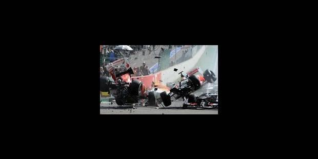 Jenson Button s'impose au GP de Belgique - La Libre