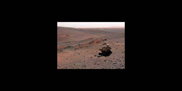 Opportunity révèle un mystère géologique sur Mars - La Libre