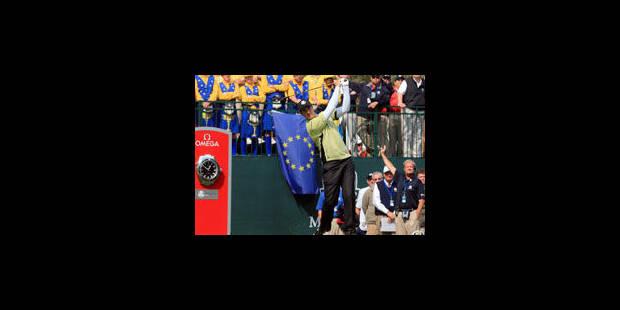 USA et Europe sont à égalité à la Ryder Cup - La Libre