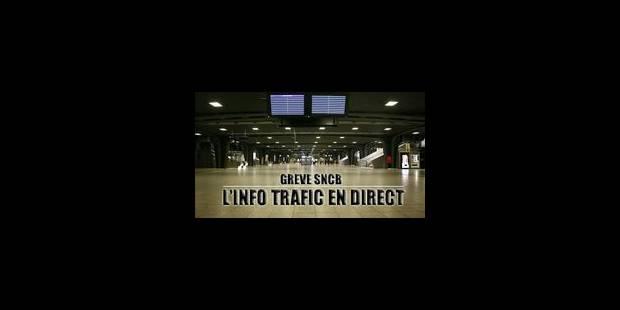 Grève sur le rail, circulation dense mais pas de pagaille sur nos routes - La Libre
