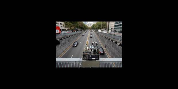 Les radars tronçons débarquent en Wallonie - La Libre