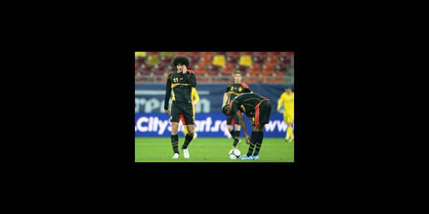 La Belgique retombe les pieds sur terre face à la Roumanie (2-1) - La Libre