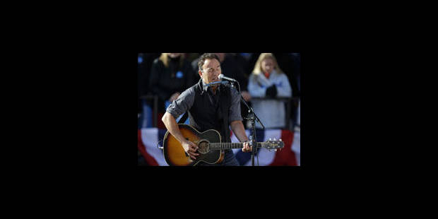 Bruce Springsteen en concert au TW Classic - La Libre