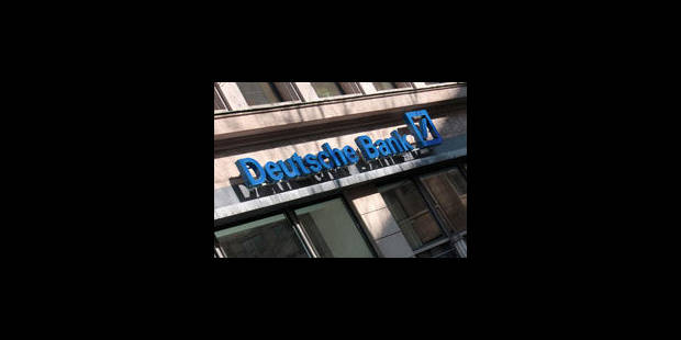 Scandale à la Deutsche Bank - La Libre