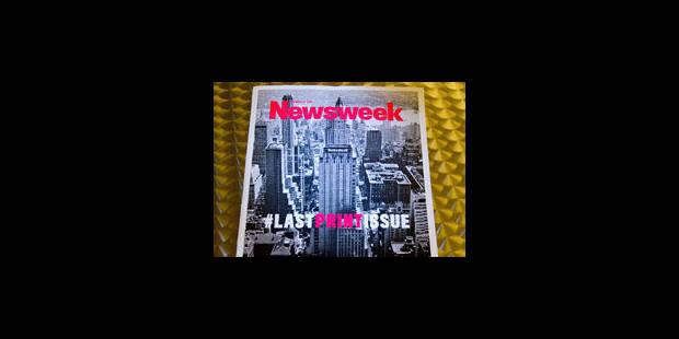 Le dernier numéro de Newsweek - La Libre