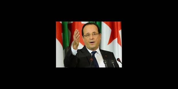 """Hollande: """"La France n'est pas là pour protéger un régime mais ses ressortissants"""" - La Libre"""