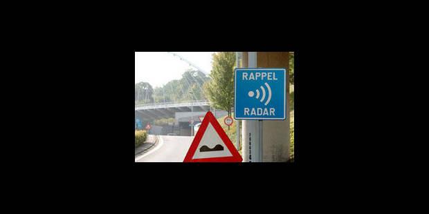 Le radar tronçon de Cointe entre en phase répressive - La Libre