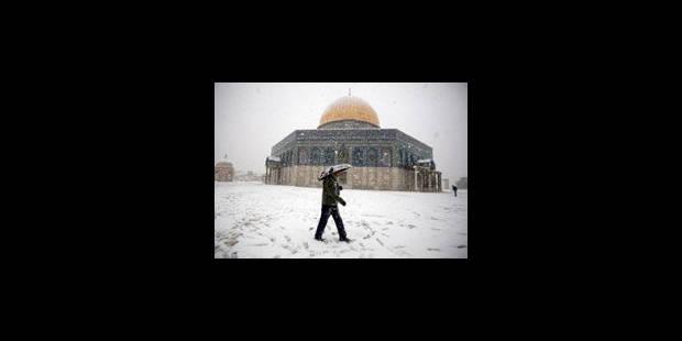 Le Proche-Orient sous un manteau de neige - La Libre