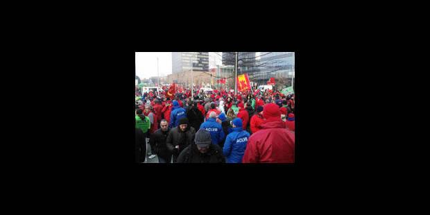 Manifestation nationale: impact limité sur les entreprises - La Libre