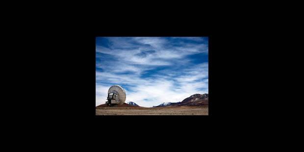 À 5 000 mètres d'altitude, les 66 antennes de l'ALMA vont déchiffrer l'univers - La Libre