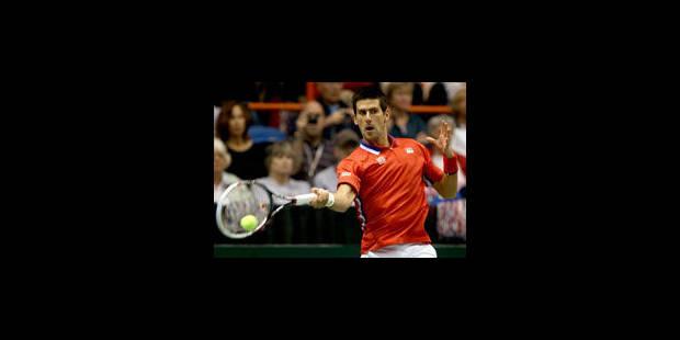 Coupe Davis: Djokovic qualifie la Serbie en 1/2 aux dépens des Etats-Unis - La Libre