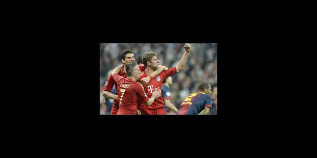 Le Bayern assomme le Barça et prend option pour la finale (4-0) - La Libre