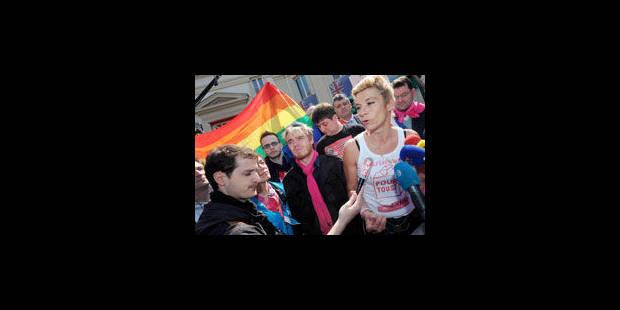 Mariage gay: les anti à nouveau dans la rue, à deux jours du vote final - La Libre