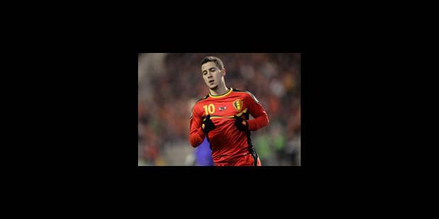 Eden Hazard toujours incertain face à la Serbie - La Libre