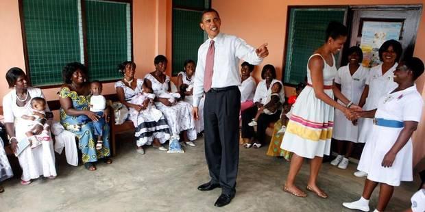 La première tournée africaine d'Obama - La Libre