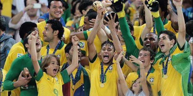 Coupe des Confédérations: le Brésil écrase l'Espagne (3-0) - La Libre