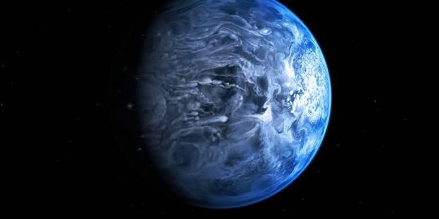 Une exoplanète bleue comme la Terre - La Libre
