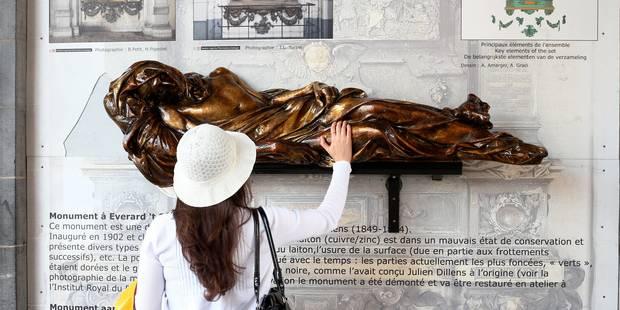 Nouvel acte de vandalisme sur une des plus célèbres statues de la Grand Place - La Libre