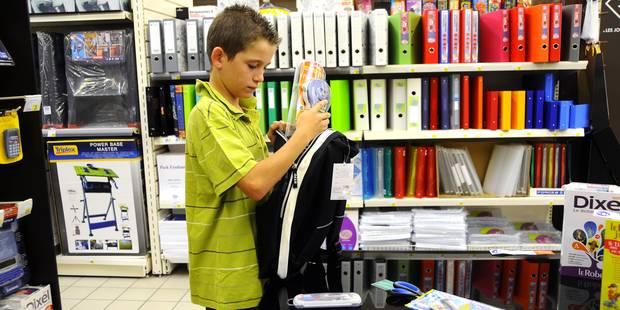 Des frais scolaires transparents à la rentrée - La Libre
