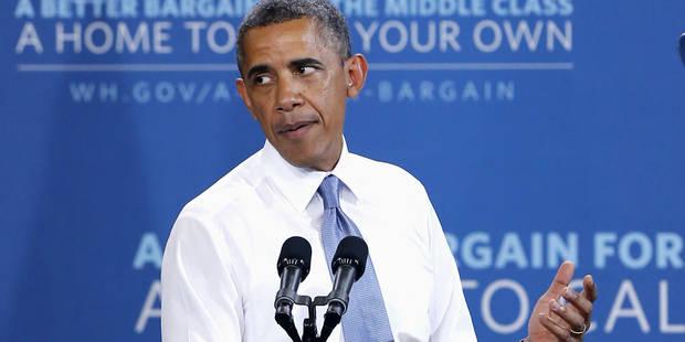 """Obama """"déçu"""" par la décision de Moscou d'accorder l'asile à Snowden - La Libre"""