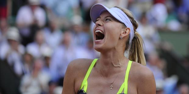 Maria Sharapova, sportive la plus riche en 2013 - La Libre