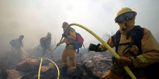 La Californie ravagée par des incendies - La Libre