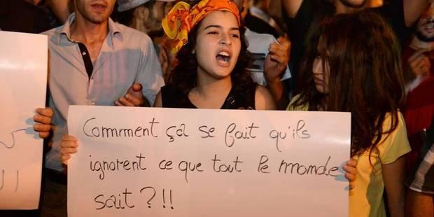 Manifestation à Bruxelles contre la grâce accordée à un pédophile au Maroc - La Libre