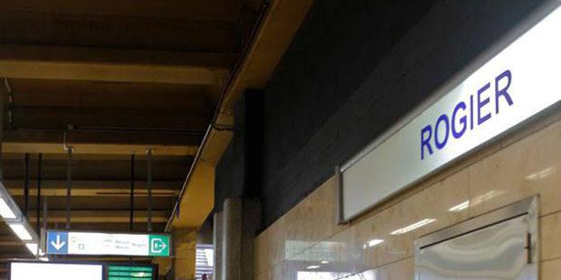 Fausse alerte pour un colis suspect dans la station Rogier à Bruxelles - La Libre