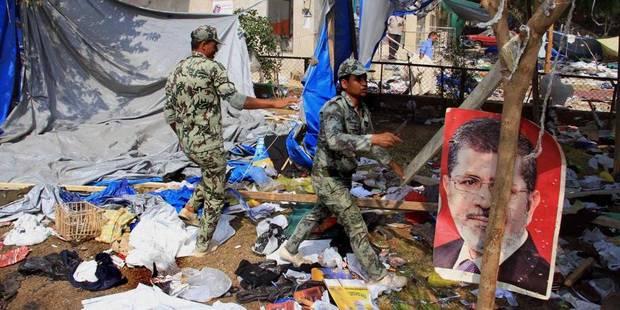 Les USA annulent des exercices militaires conjoints avec l'Egypte - La Libre