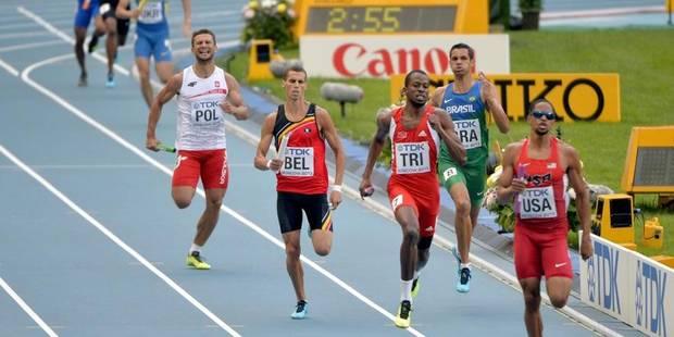 La Belgique qualifiée pour la finale du 4x400 m - La Libre