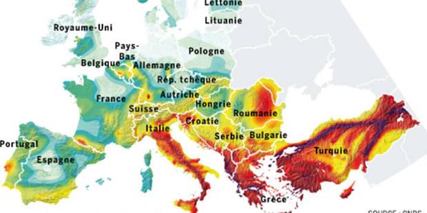 Les risques de tremblements de terre sont importants en Wallonie - La Libre
