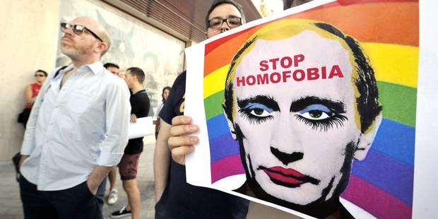 Poutine interdit toute manifestation pendant les JO de Sotchi - La Libre
