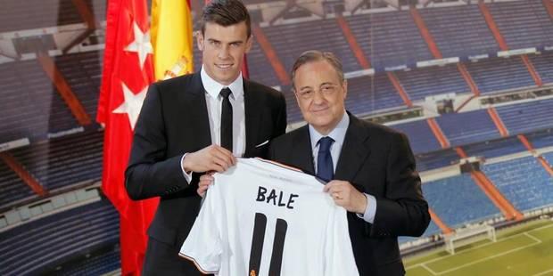 """Gareth Bale: """"Un rêve de jouer pour le Real"""" - La Libre"""