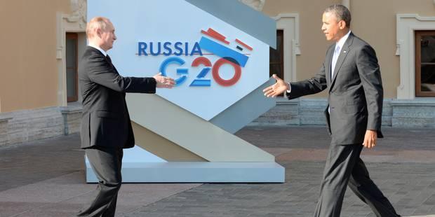 G20: Les divisions sur la guerre en Syrie perdurent - La Libre