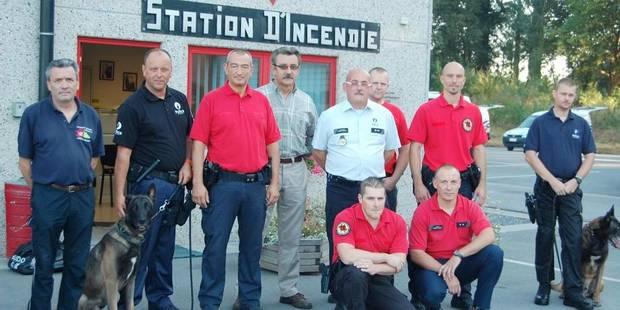 Les pompiers en action - La Libre