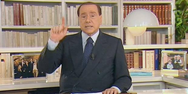 Qu'il perde ou pas son poste de sénateur, Berlusconi restera sur la scène politique - La Libre