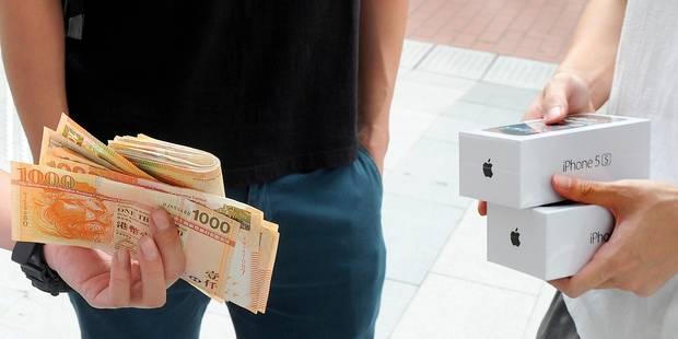 Guerre des prix pour la sortie des nouveaux iPhones - La Libre