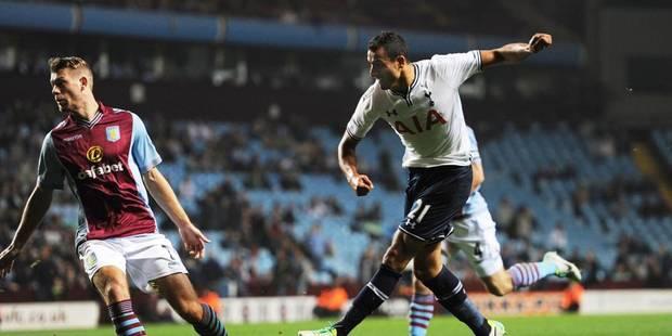 Belges à l'étranger: Premier but de Nacer Chadli pour Tottenham! - La Libre