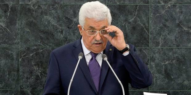 "Selon Abbas, l'accord de paix avec Israël doit être ""définitif"" - La Libre"