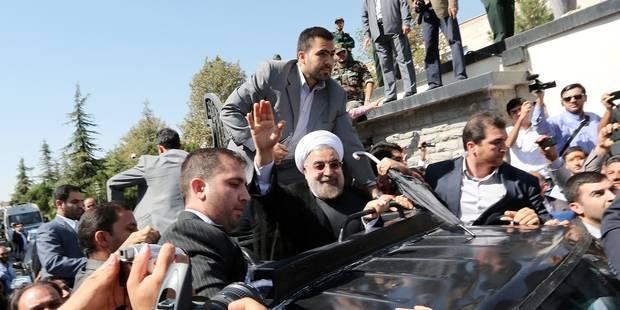 Iran: retour triomphal de Rohani après son contact historique avec Obama - La Libre