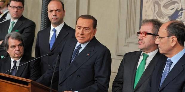 Italie: Berlusconi plonge le gouvernement dans une nouvelle crise - La Libre
