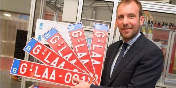 Plaque d'immatriculation obligatoire pour les cyclomoteurs à partir de mars 2014 - La Libre