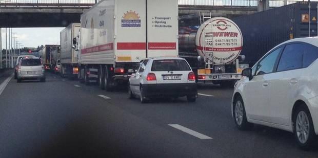 Important accident sur le ring de Bruxelles - La Libre