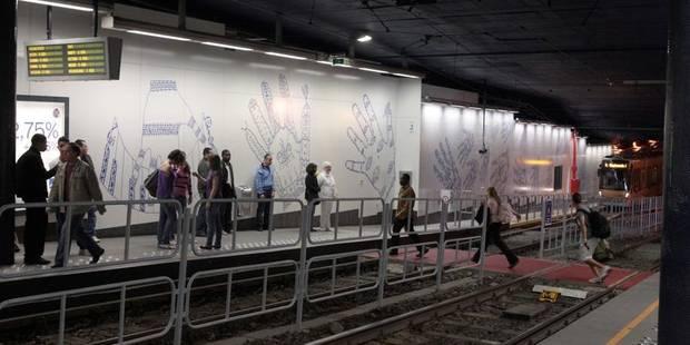 Le métro, sale et dangereux... - La Libre