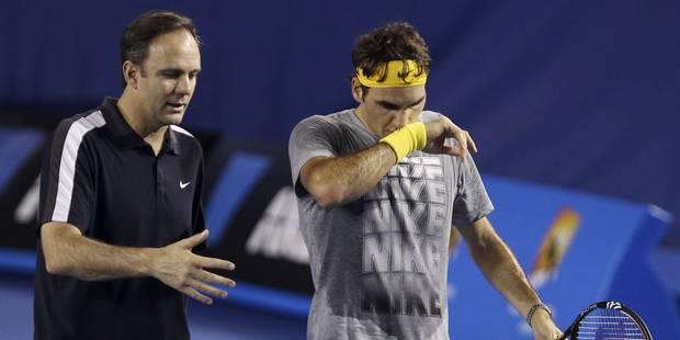 Roger Federer se sépare de son coach - La Libre