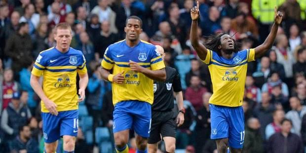 Les Belges à l'étranger: Lukaku buteur face à Aston Villa - La Libre