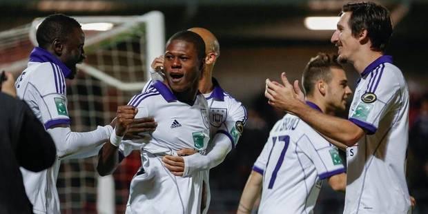 Anderlecht reprend des couleurs à Ostende (0-3) - La Libre