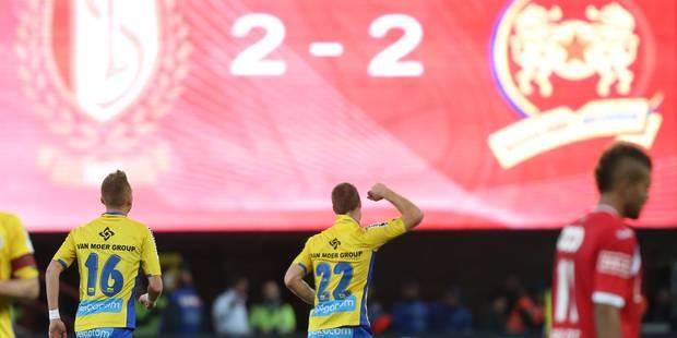 Le Standard perd 2 nouveaux points face à Waasland-Beveren (2-2) - La Libre