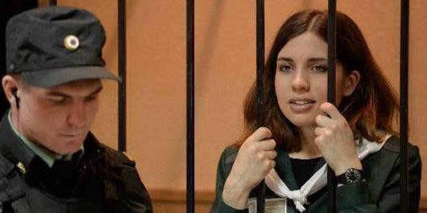 Aucune nouvelle d'une Pussy Riot depuis 13 jours, son mari s'inquiète - La Libre